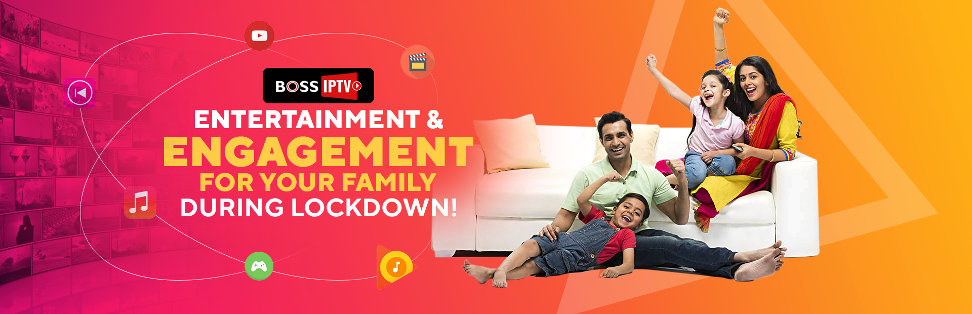 Entertainment & Engagement for your family during lockdown!