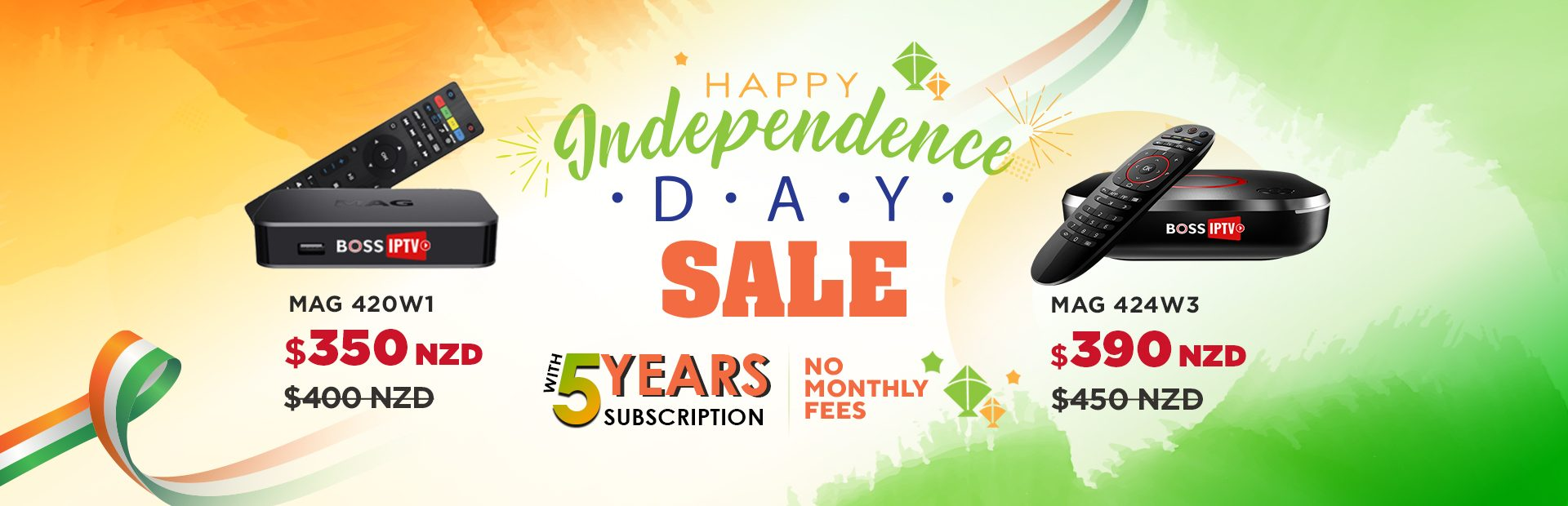 Happy Independence Day Sale