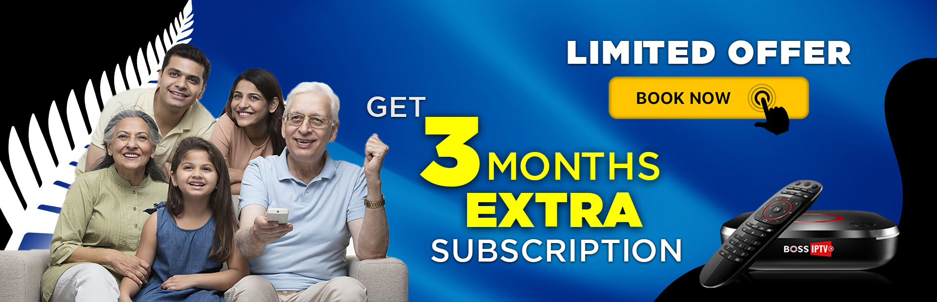 GET 3 MONTHS EXTRA SUBSCRIPTION